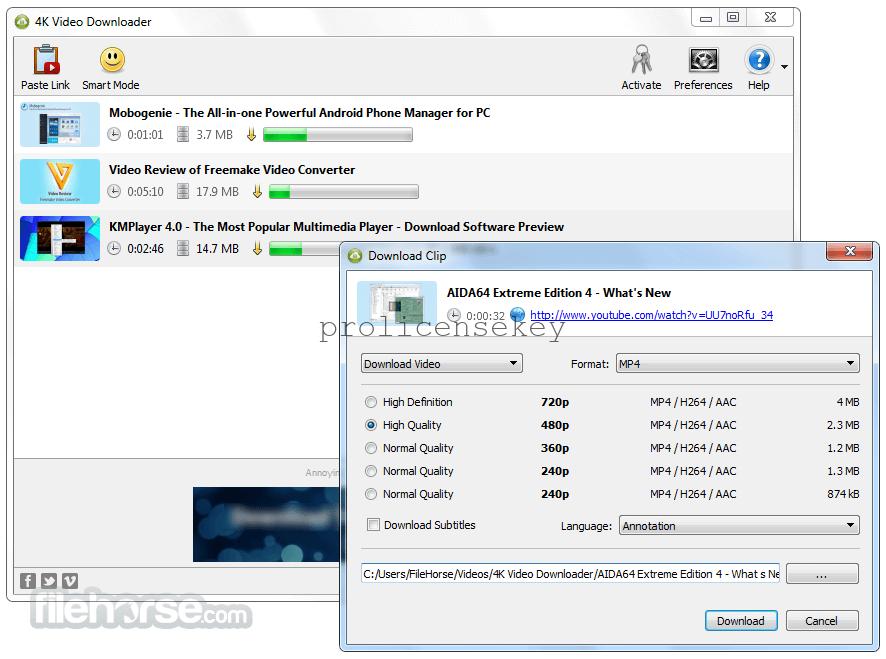 4k Video Downloader 4.12.0.3570 Crack License Key + Code Lifetime