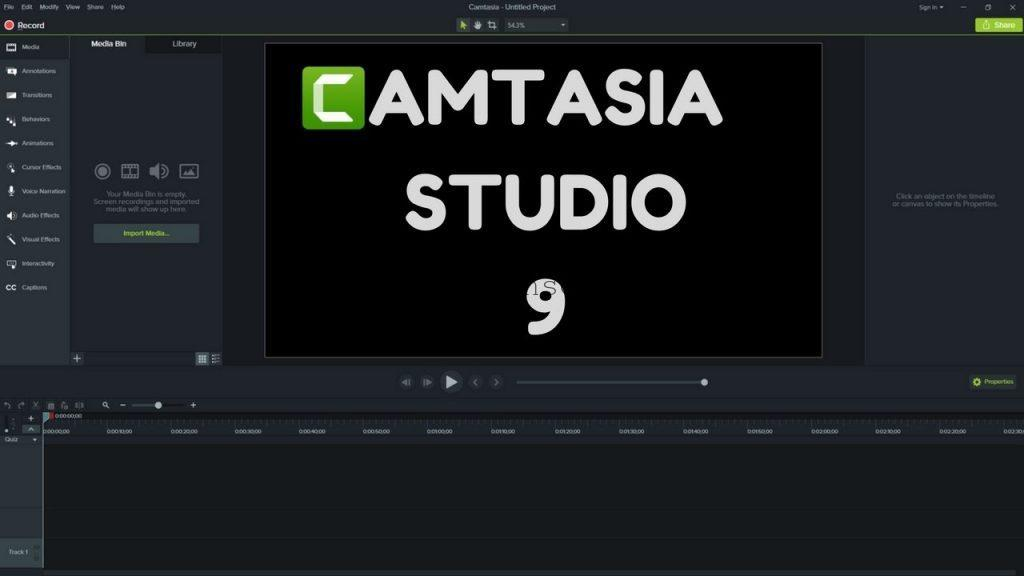 Camtasia Studio 2019.0.9 Crack License Key till 2021 {Latest}