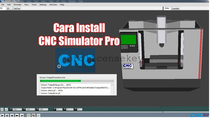 CNC Simulator Pro 7.2 Crack full License Key Generator till 2023 {Latest}