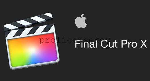 Final Cut Pro X 10.5.2 Crack MAC Win + All Keygen 100% Working