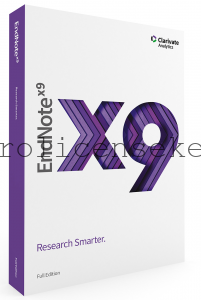 EndNote X9.2 Build 13018 Crack Full Product Key Latest {Torrent}