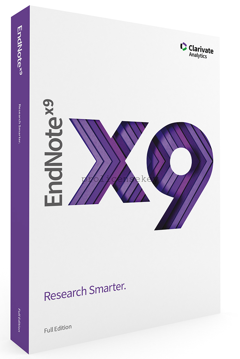 EndNote X9.3.3 Build 13966 Crack Full Product Key Latest {Torrent}