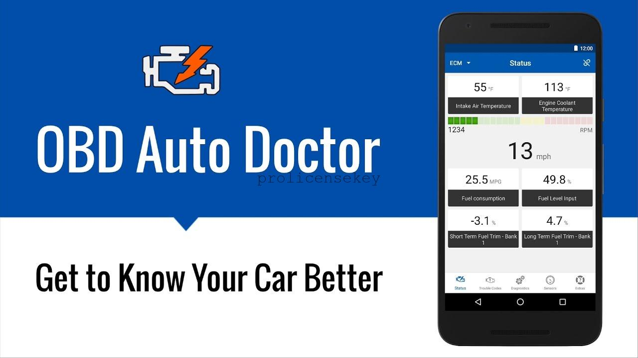 OBD Auto Doctor 3.6.0 Crack Full License Key + Keygen {Latest}
