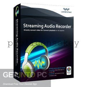 Wondershare Streaming Audio Recorder 2.4.1 Crack + Keygen full Version
