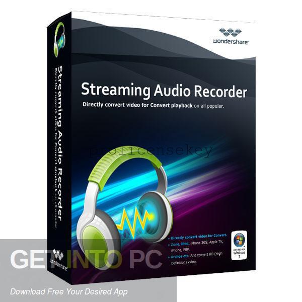Wondershare Streaming Audio Recorder 2.4.1.5 Crack Full Keygen Latest
