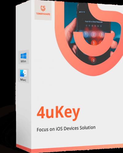 Tenorshare 4uKey 2.1.3.2 Crack full Registration Code Latest {2019}