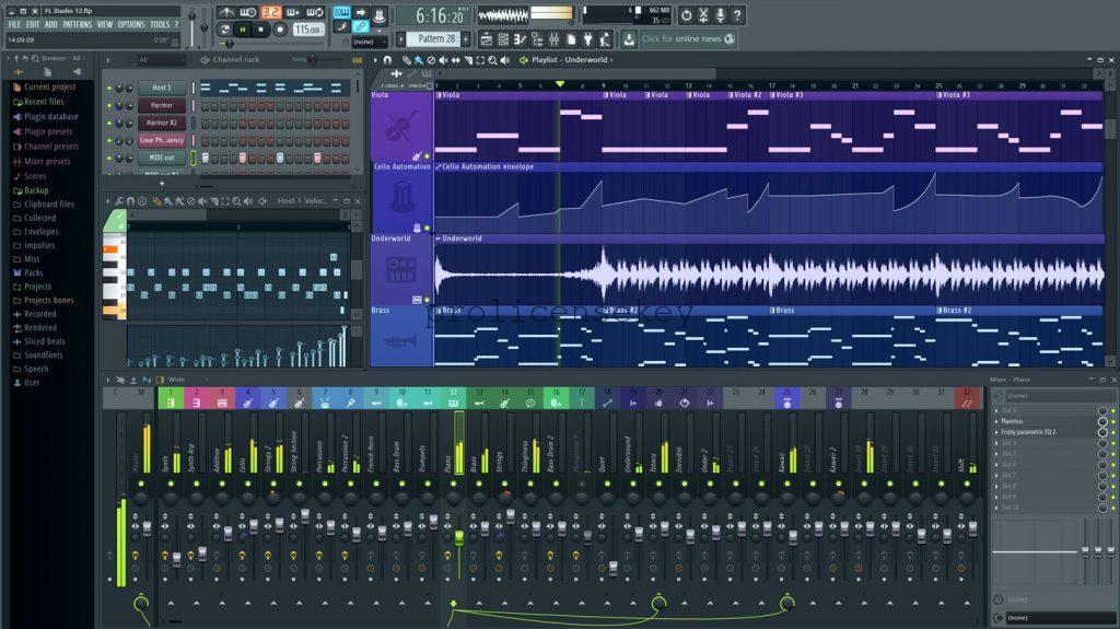 FL Studio 20.8.1.2131 Crack Regkey V12 with Keygen {Latest}