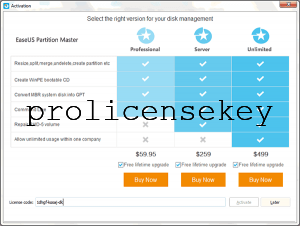 EASEUS Partition Master 15.0 Crack Key with License Key till 2021